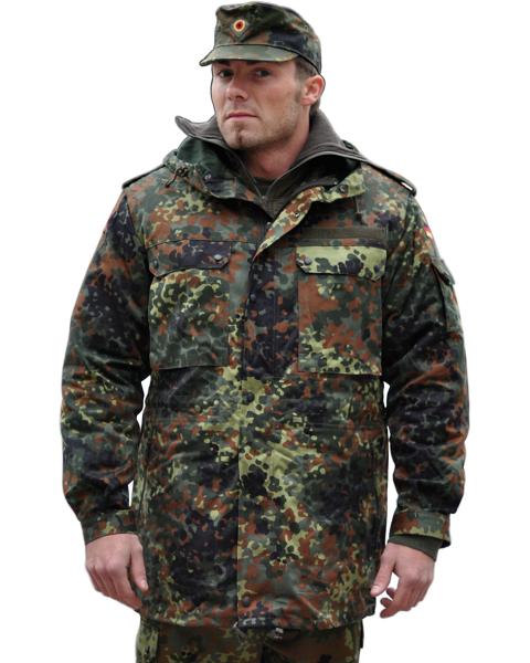 niemiecka kurtka wojskowa czapka zimowa