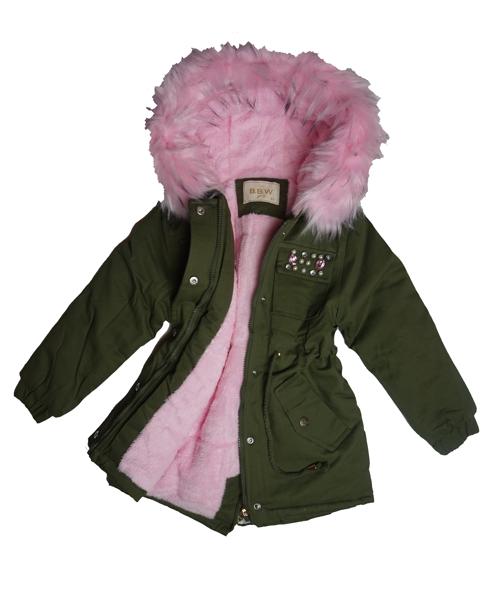 ciepla kurtka zimowa dziecieca