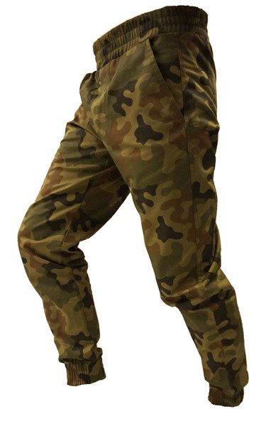 Spodnie joggery moro męskie z kieszenią