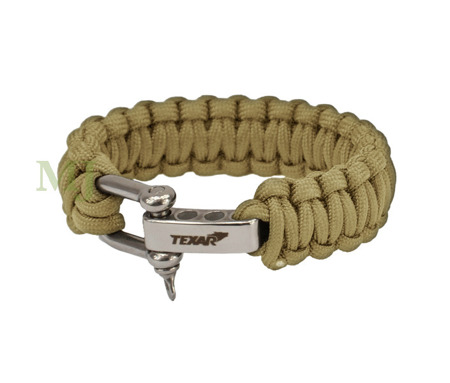 BRANSOLETKA PARACORD COYOTE TEXAR